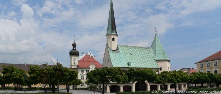 Sehenswürdigkeiten in Altötting Wallfahrt Kirche