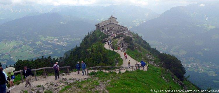 Sehenswürdigkeiten und Ausflugsziele in Berchtesgaden der Obersalzberg