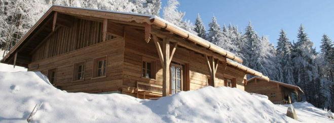 Exklusive Ferienhütten in Bayern Luxus Chalet Bayerischer Wald