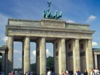 Das Brandenburger Tor in Berlin Deutschland