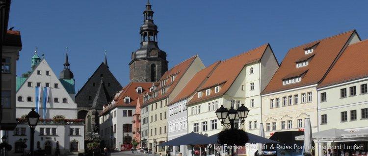 Ausflugsziele Lutherstadt Eisleben Sehesnwürdigkeiten Marktplatz