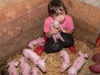 Erlebnis Bauernhof Deutschland Kind Bauernhofurlaub