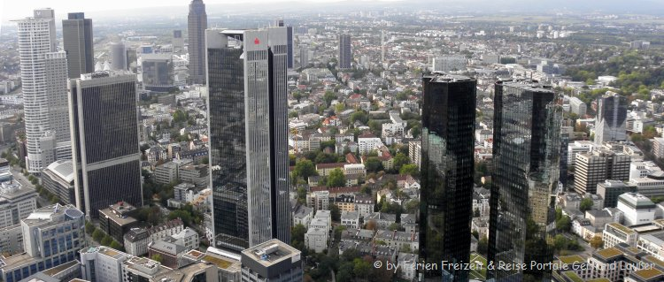 Aussichtsturm Maintower bester Aussichtspunkt in Frankfurt