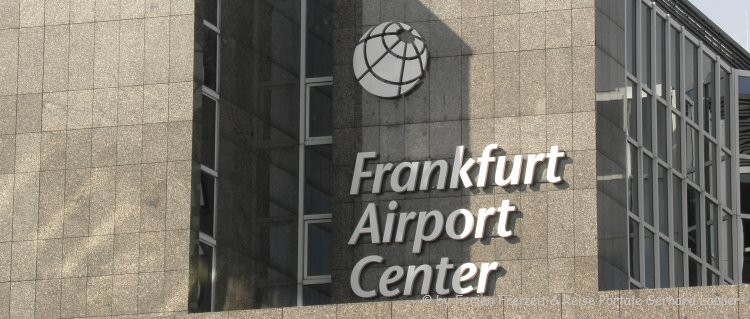 Flughafen Frankfurt Airport Center Adresse