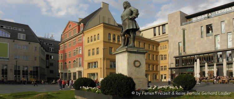 Sehenswürdigkeiten in Halle an der Saale Händeldenkmal