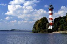 Urlaub in Deutschland Reiseziel Hamburg Küste Leuchtturm