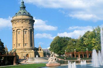 Historische Bauwerke in Hessen Wasserturm