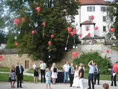 Hochzeitslokal Regensburg Cham Schloßhof