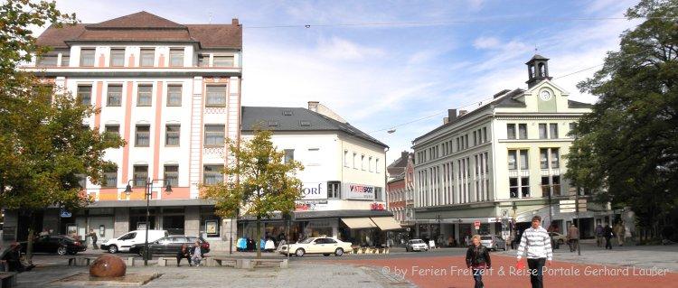 Sehenswürdigkeiten Hof an der Saale Stadtplatz
