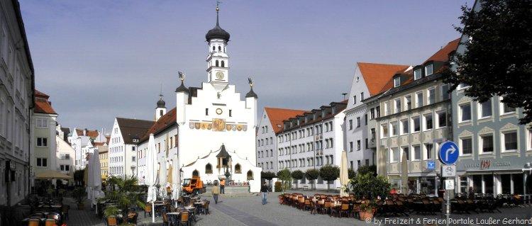 Sehenswürdigkeiten in Kempten im Allgäu Altstadt
