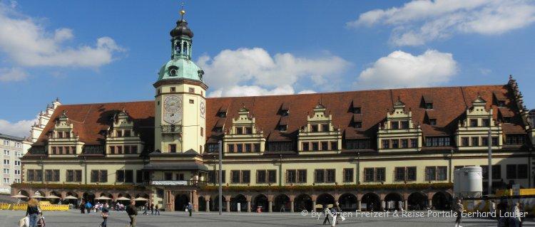 Top Sehenswürdigkeiten in Leipzig Rathaus Ansicht