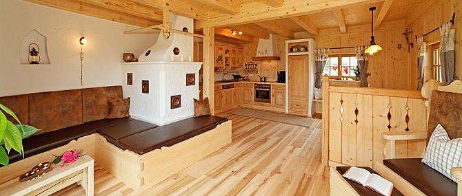 Luxus Ferienchalet in Niederbayern Naturholzhaus am Ernstlhof