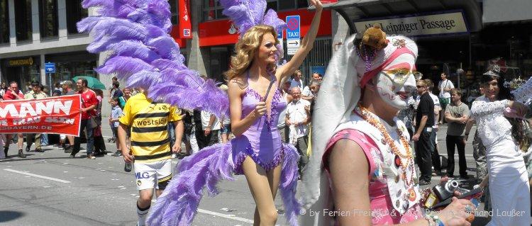 Christopher Street Day in München Fotos CSD Parade Bilder