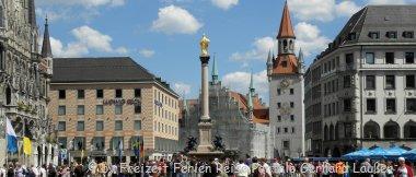 Sehenswürdigkeiten erkunden - günstige Unterkunft in München