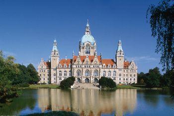 Städtereisen Niedersachsen Rathaus in Hannover