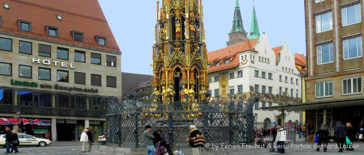 Sehenswürdigkeiten Nürnberg Innenstadt Schöner Brunnen