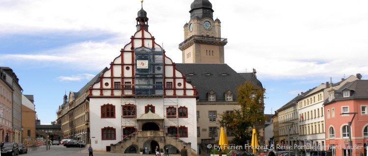 Sehenswürdigkeiten im Vogtland Altstadt in Plauen