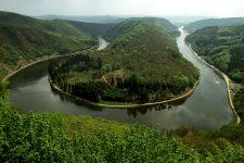 Bekannte Ausflugsziele im Saarland Saarschleife