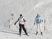 Skiurlaub Deutschland Skifahren Schnee Langlaufen