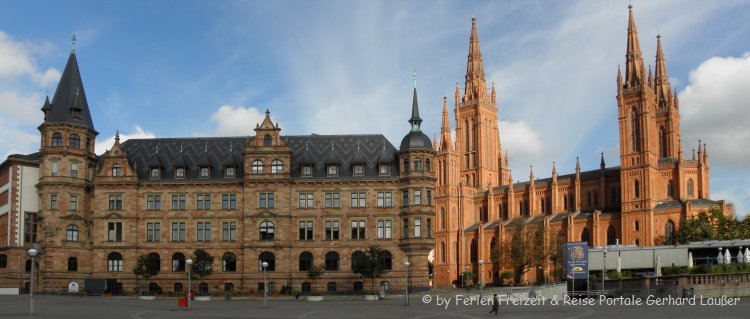 Sehenswürdigkeiten in Wiesbaden Innenstadt