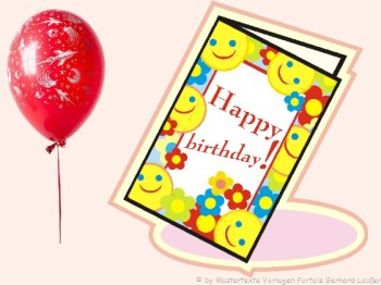 Witzige Texte Geburtstag Karten