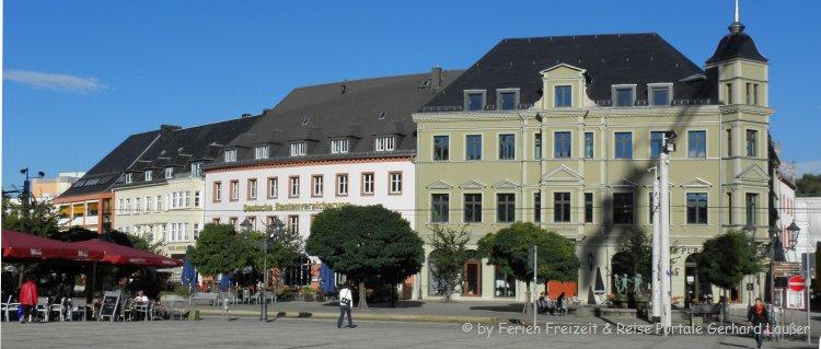Sehenswürdigkeiten in Zwickau Ausflugsziele sehenswerte Altstadt