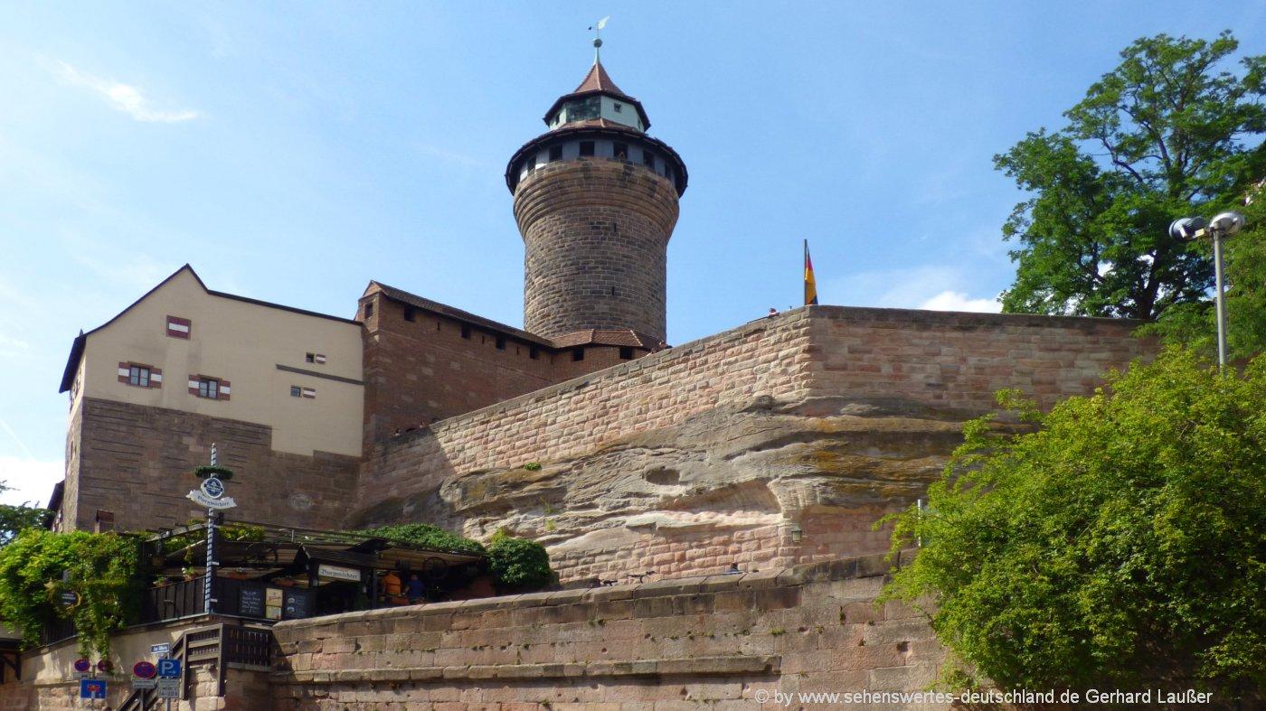 Reiseziel in Deutschland Städteziele Nürnberg in Süddeutschland