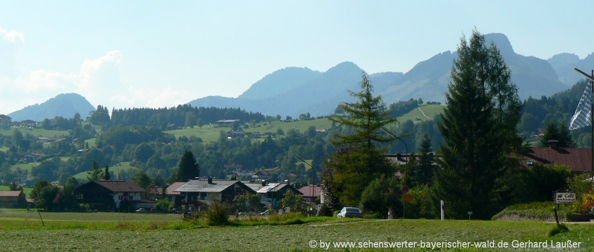Outdoor-Aktivitäten im Chiemgau Aktivurlaub in Reit im Winkl