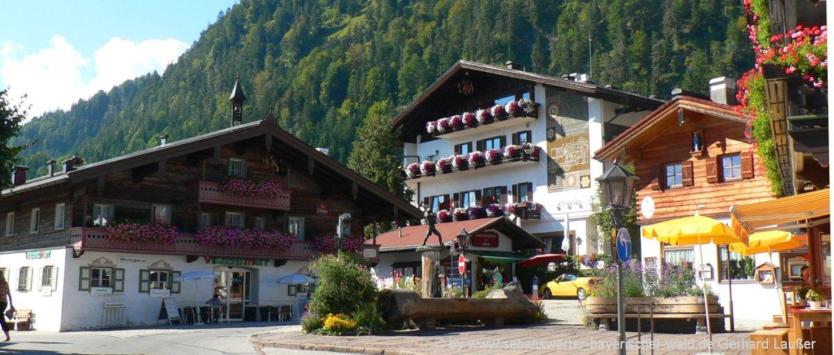 urige Dörfer im Chiemgau Freizeit Aktivitäten für Jung & Alt