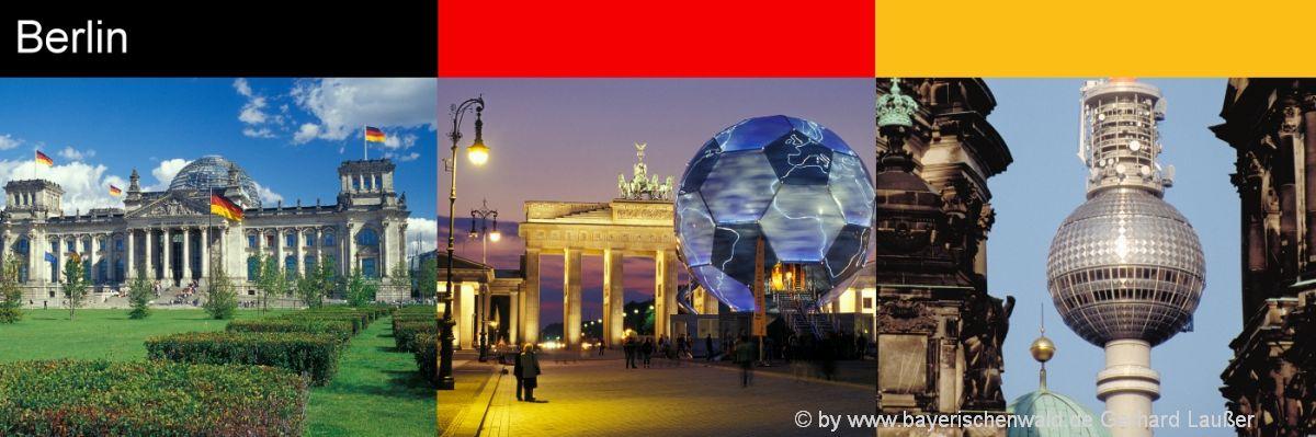 Sehenswürdigkeiten Highlights im Reiseführer Berlin
