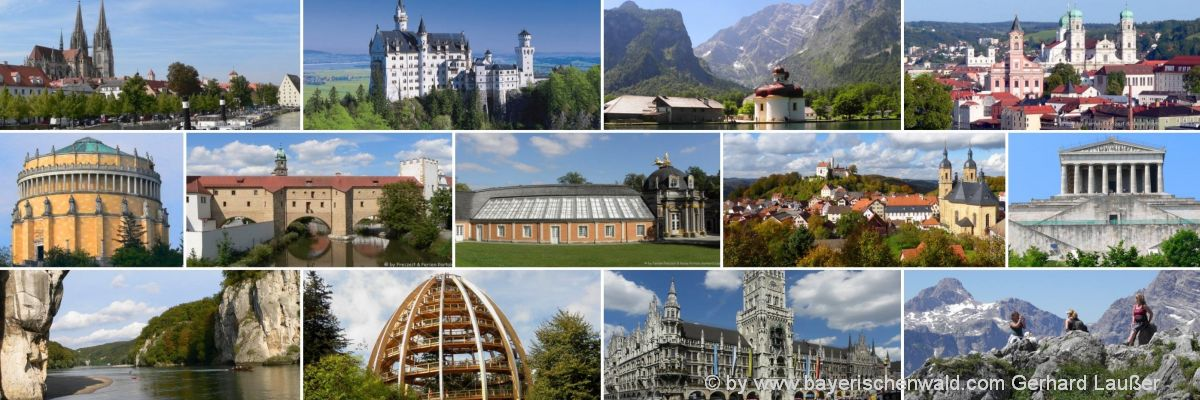 Städteurlaub Norddeutschland Urlaubsziele in Süddeutschland